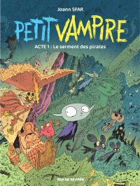 Image de couverture (Petit Vampire. Volume 1, Le serment des pirates)