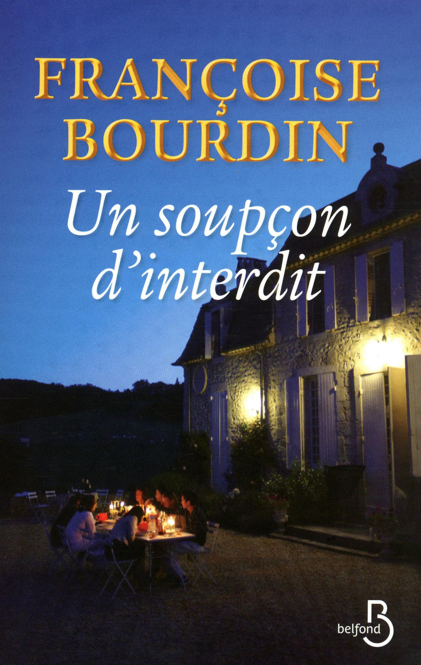 Un soupçon d'interdit | BOURDIN, Françoise