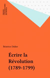 Écrire la Révolution (1789-...