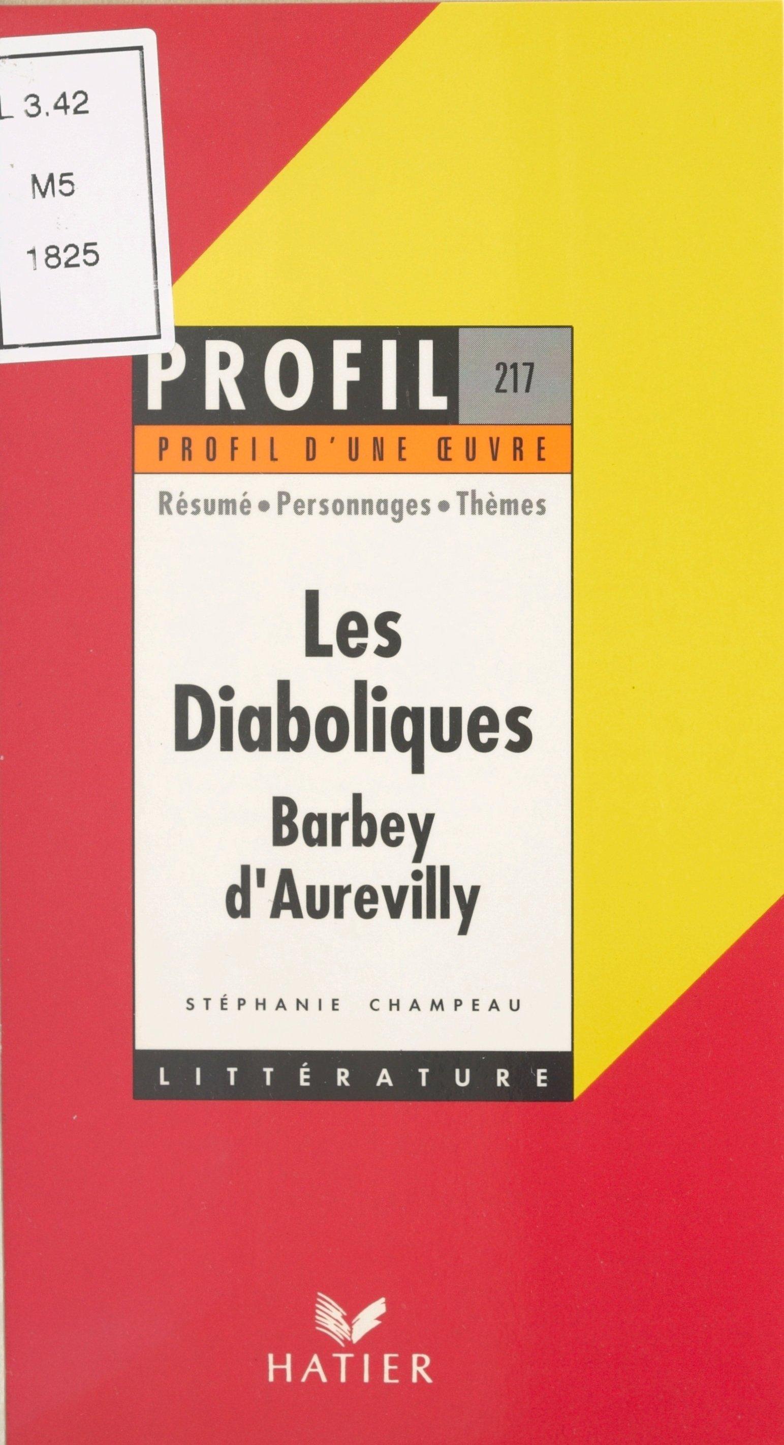 Les diaboliques, 1874, Barb...