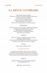La Revue Littéraire N°10