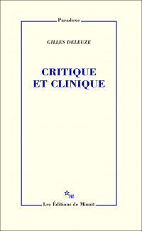 Critique et clinique