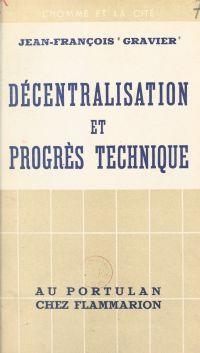 Décentralisation et progrès...