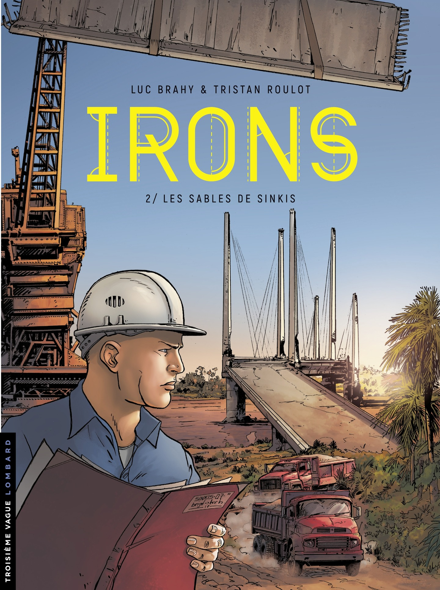 Irons - tome 2 - Les Sables...