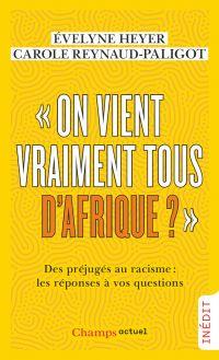 """Image de couverture (""""On vient vraiment tous d'Afrique?"""")"""