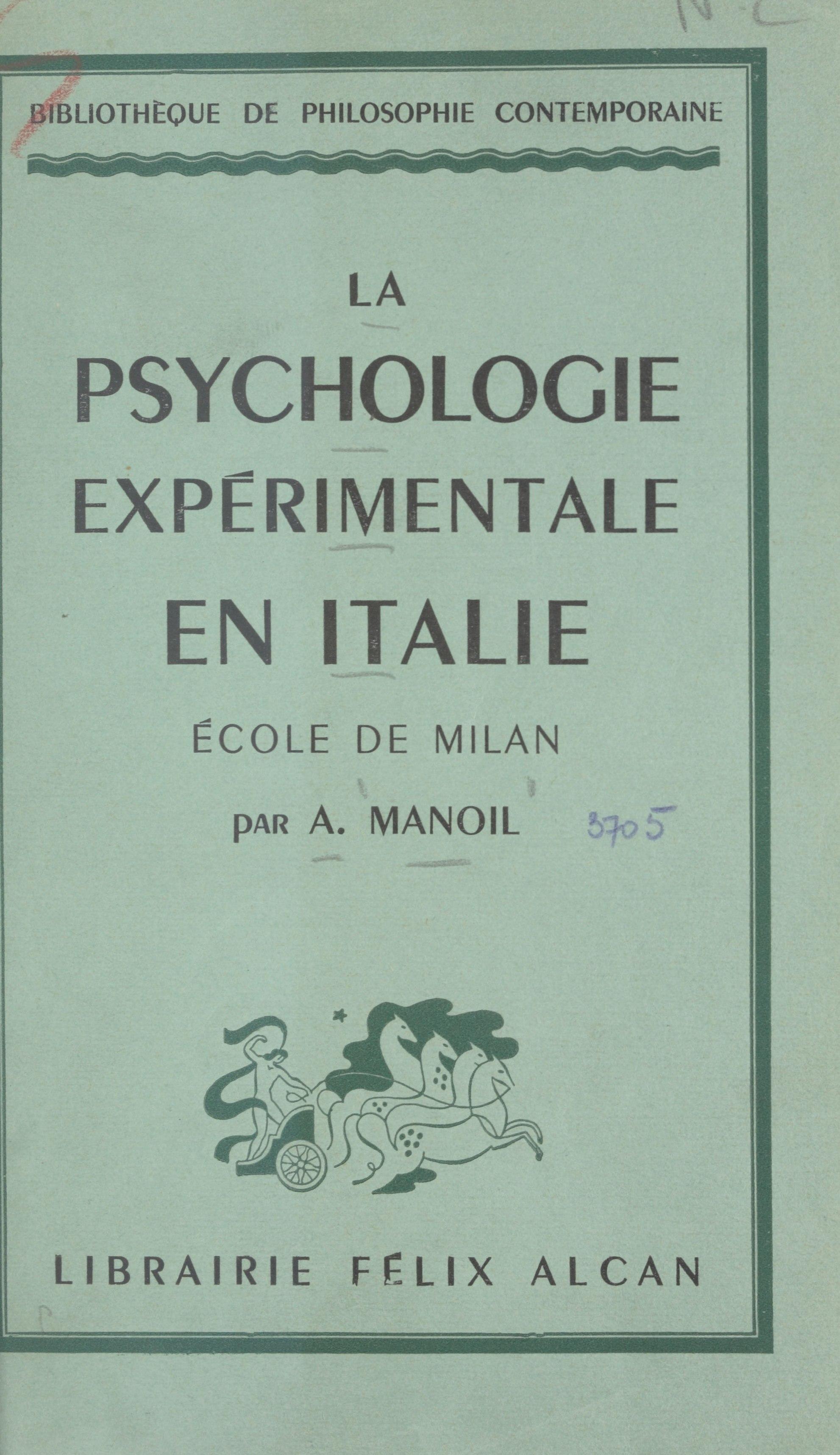 La psychologie expérimental...