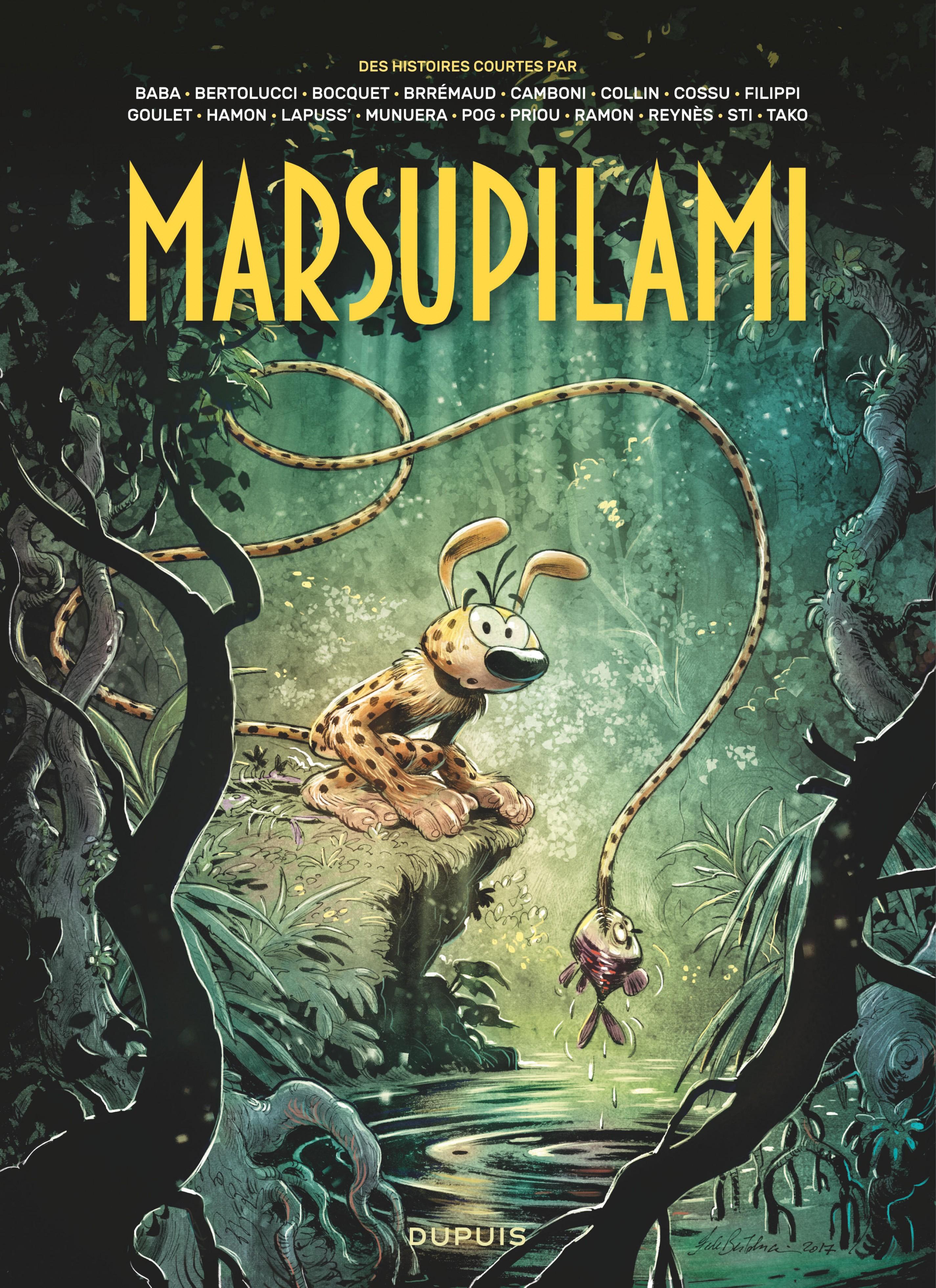 Marsupilami par - Tome 1 - Des histoires courtes du Marsupilami par... Tome 1