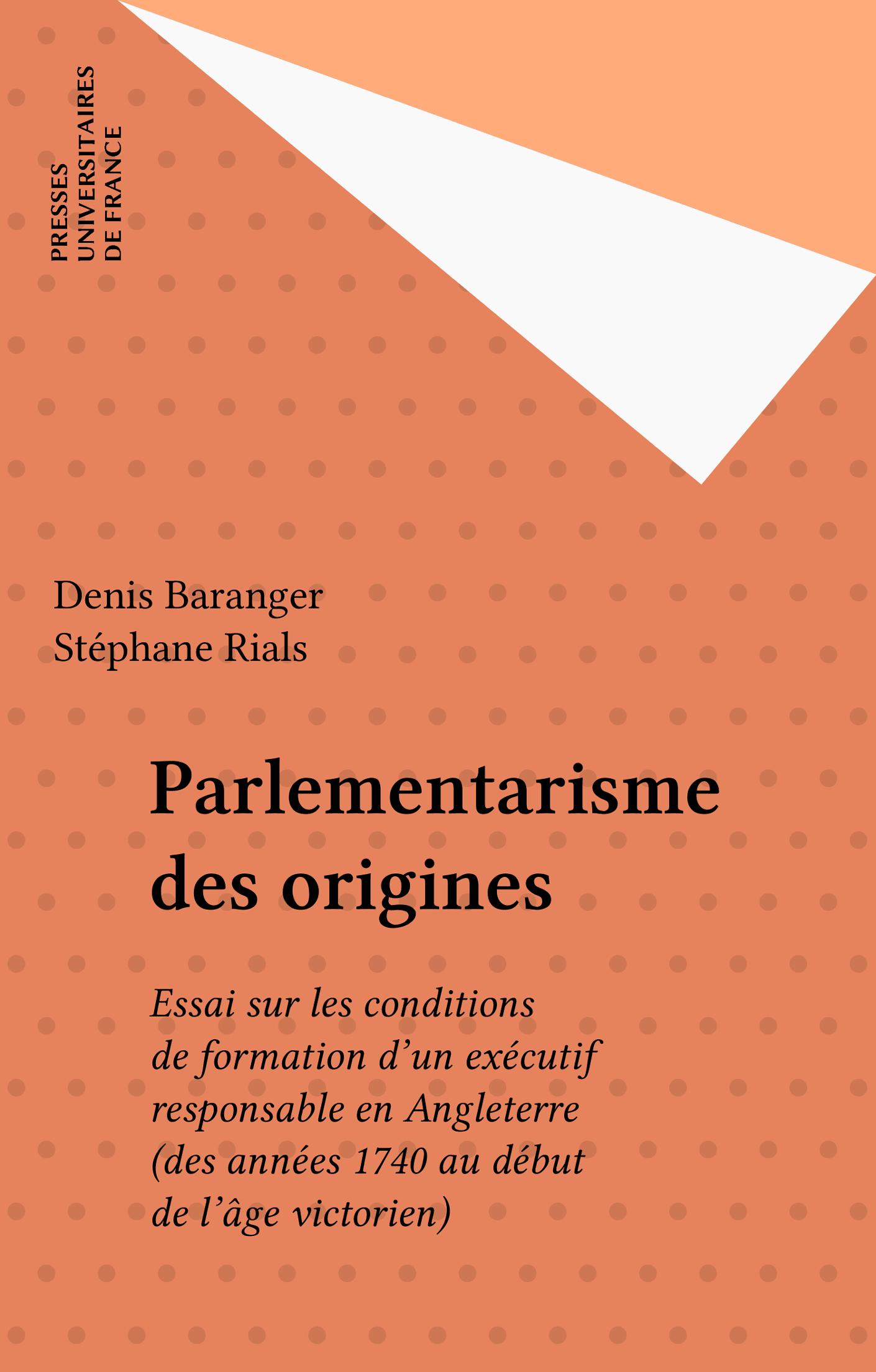 Parlementarisme des origines
