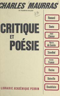 Critique et poésie
