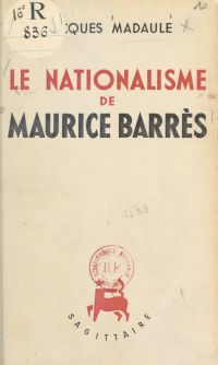 Le nationalisme de Maurice ...