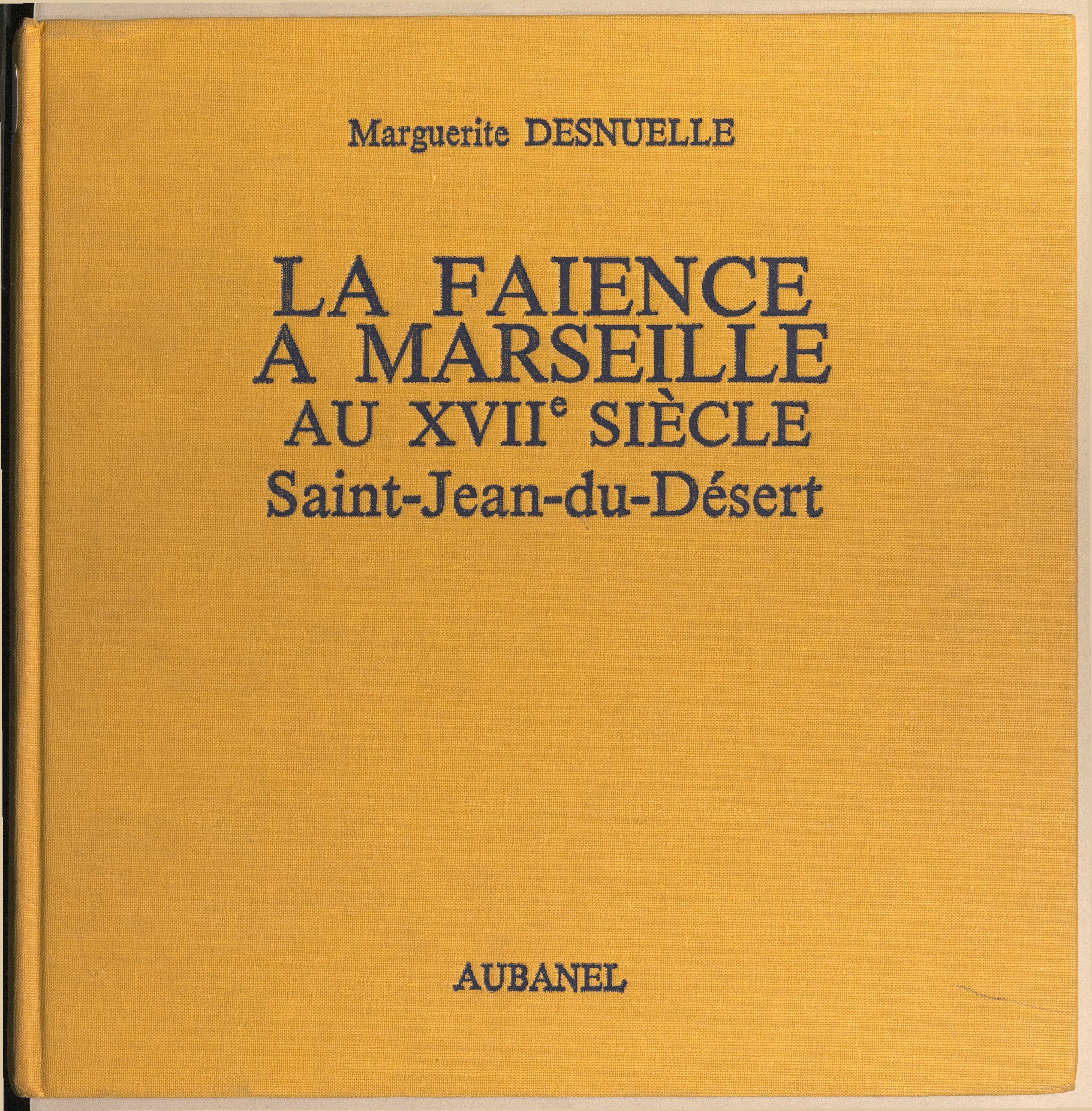 La faïence à Marseille au X...