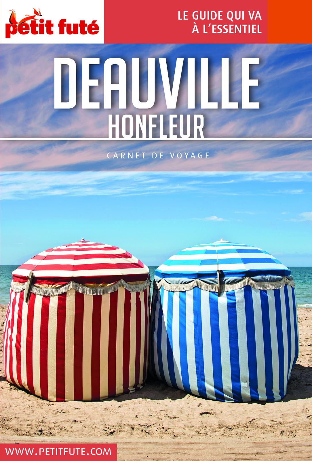 DEAUVILLE / HONFLEUR 2018 Carnet Petit Fut?