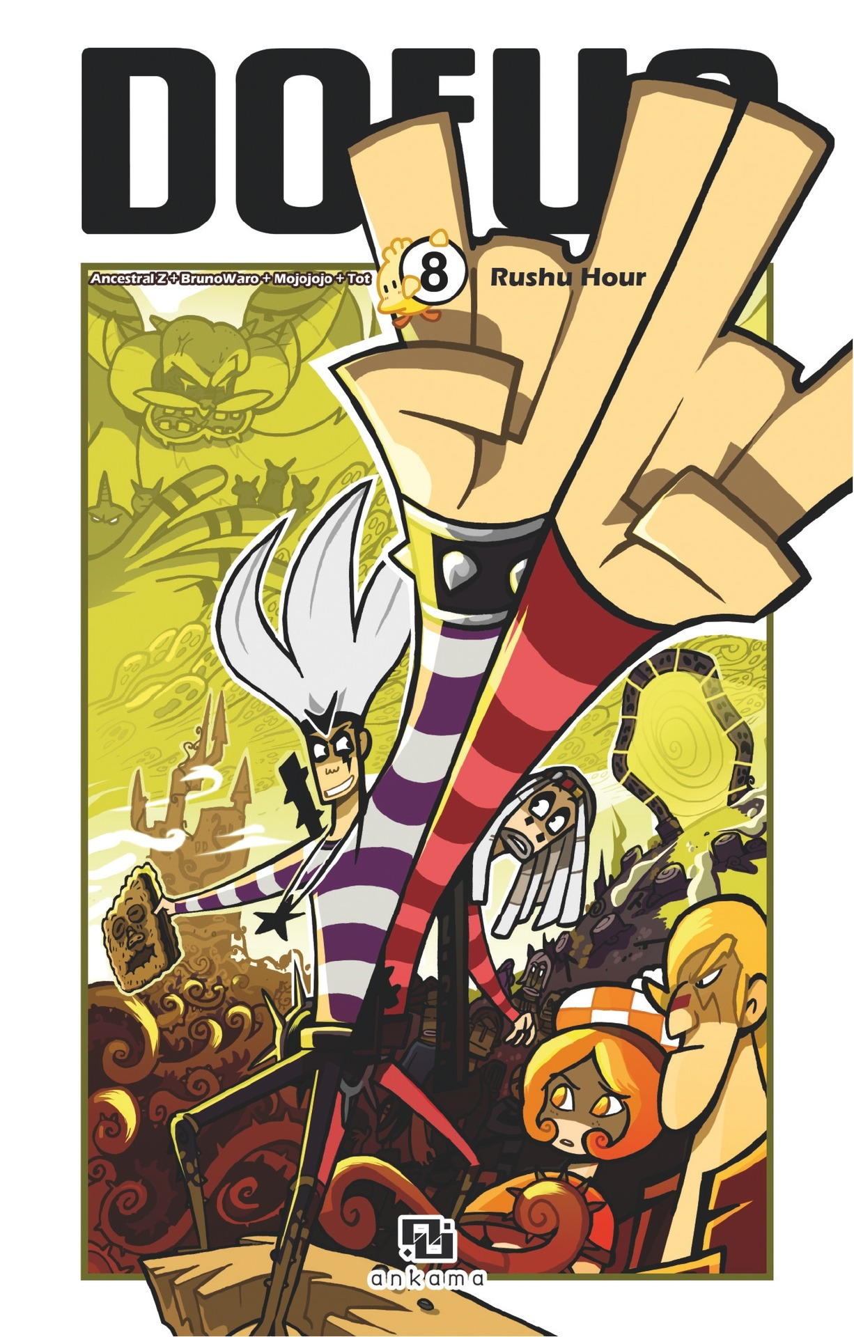 Dofus Manga - Tome 8 - Rushu Hour