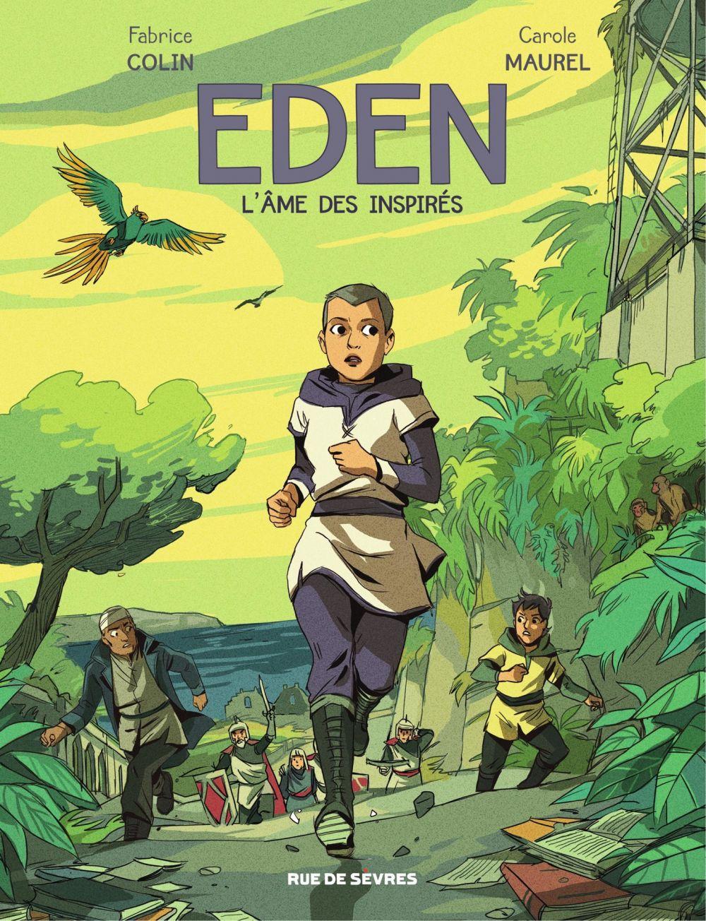 Eden - L'âme des inspirés | Colin, Fabrice