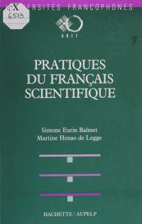 Pratiques du français scien...