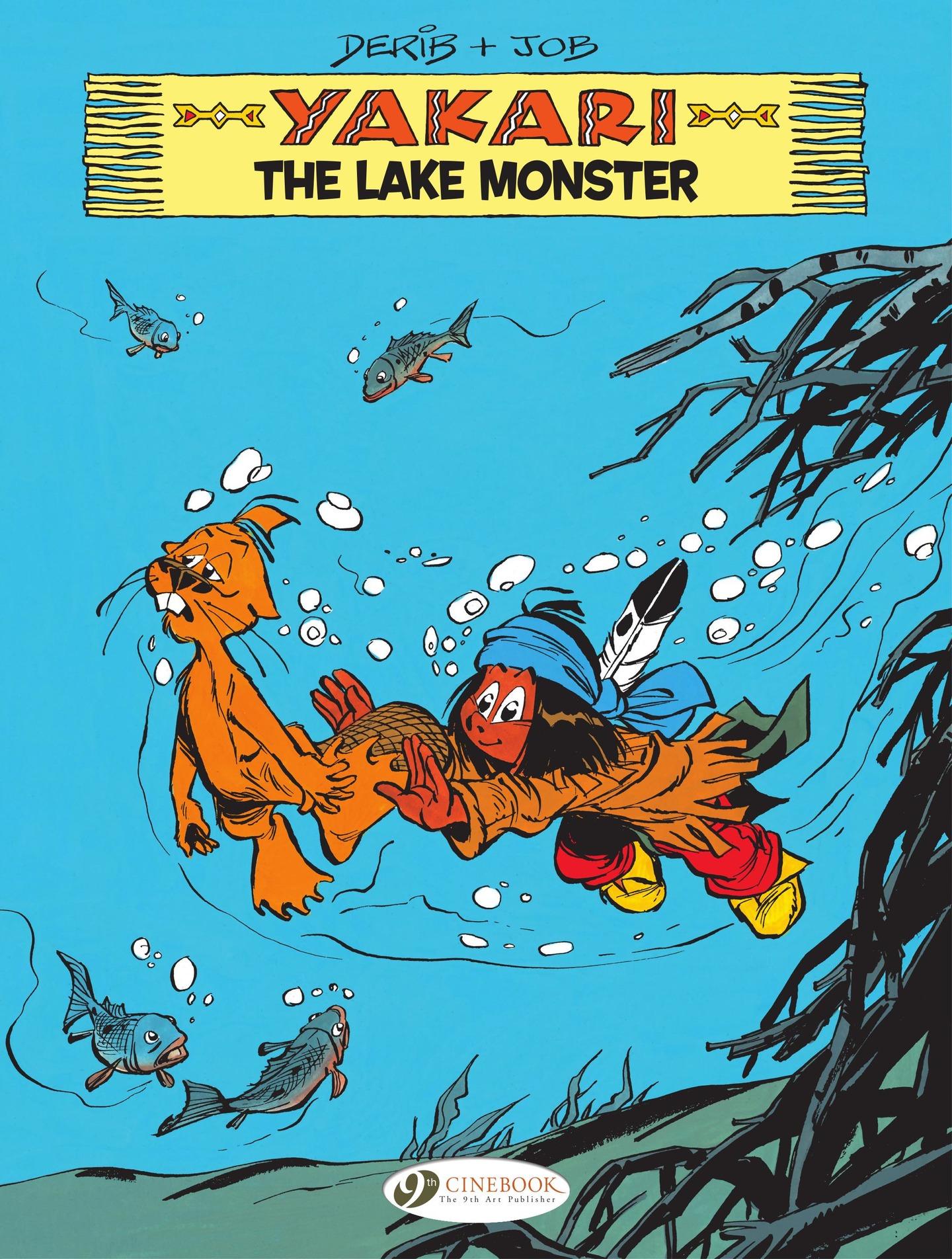 Yakari 16 - The Lake Monster