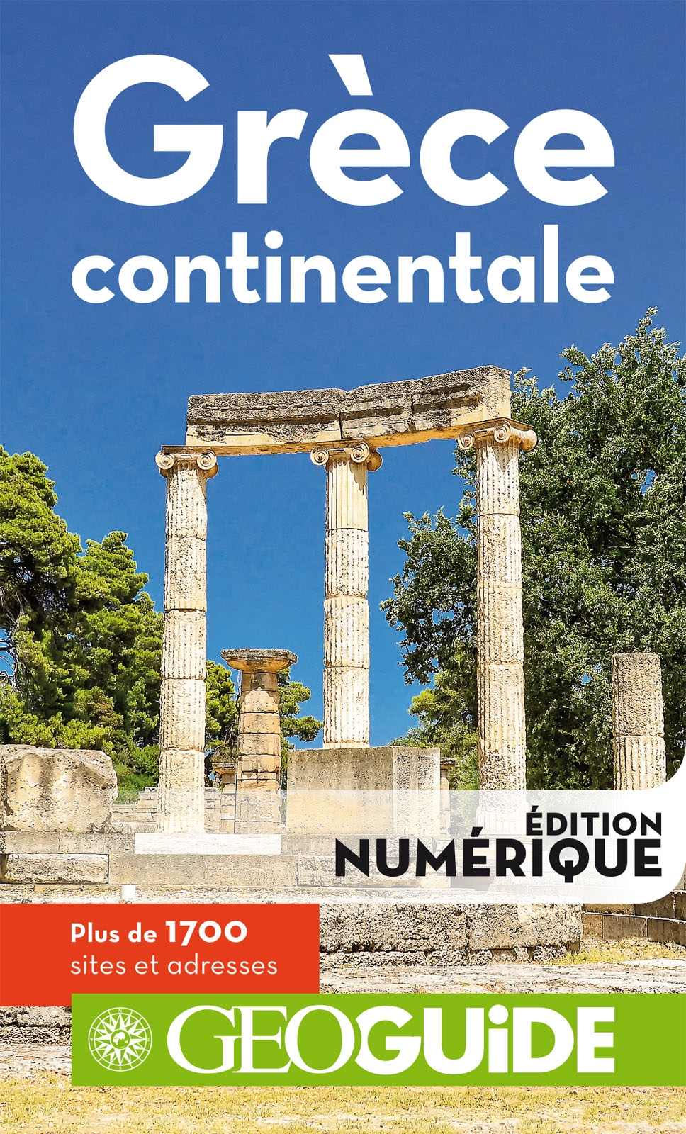 GEOguide Grèce continentale | Collectif,