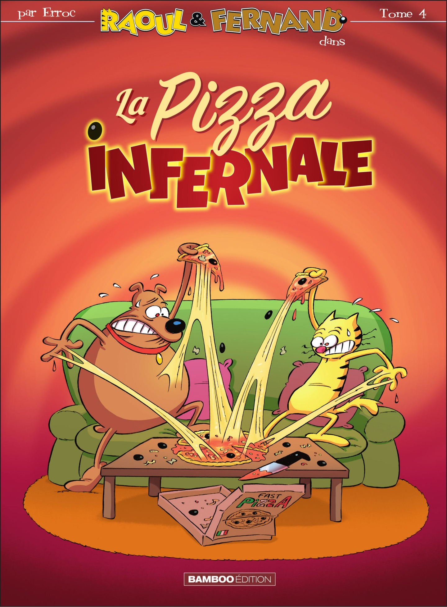 La pizza infernale