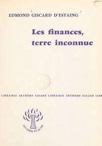 Les finances, terre inconnue
