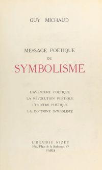 Message poétique du symbolisme