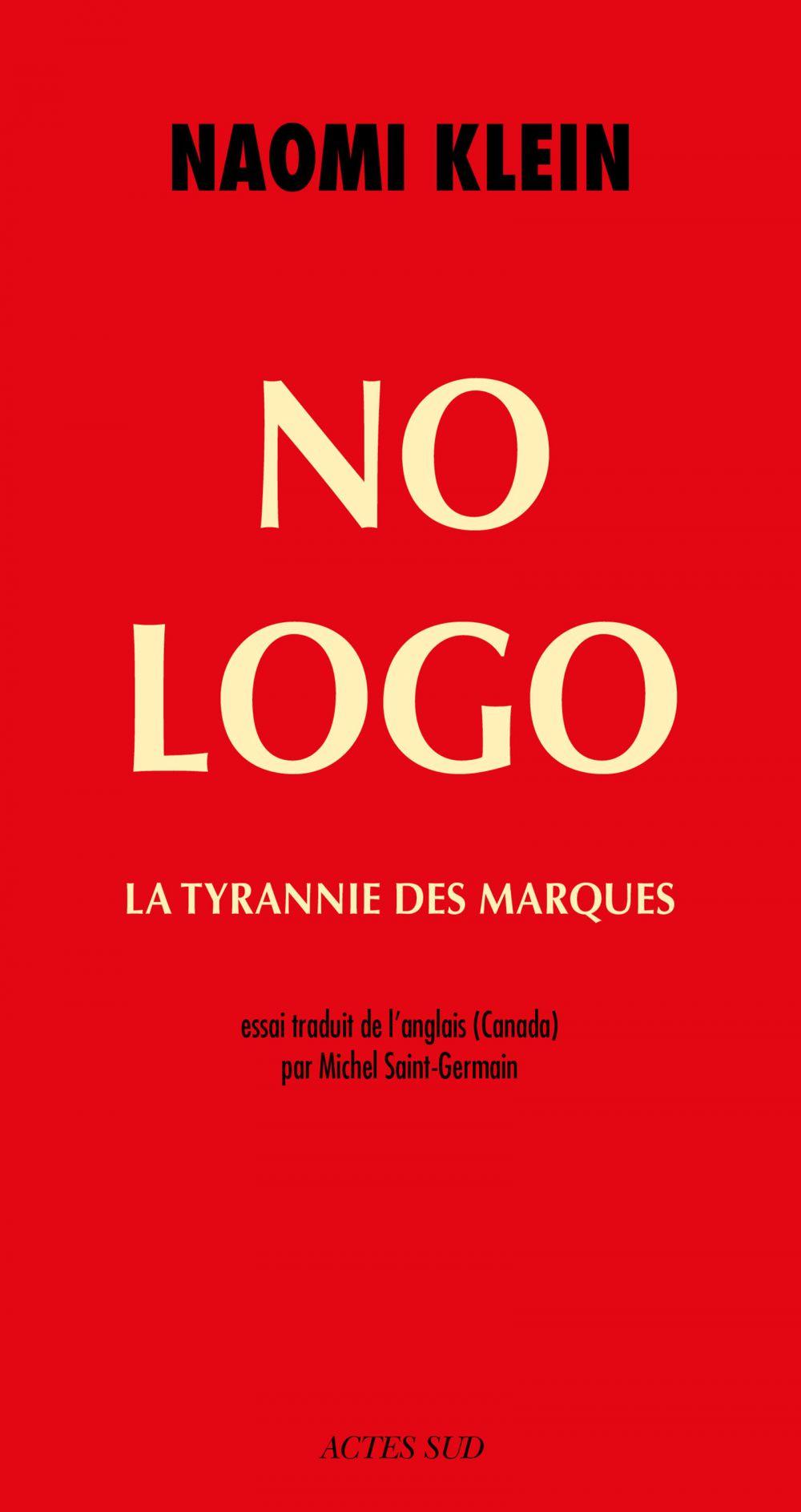 No Logo | Klein, Naomi (1970-....). Auteur