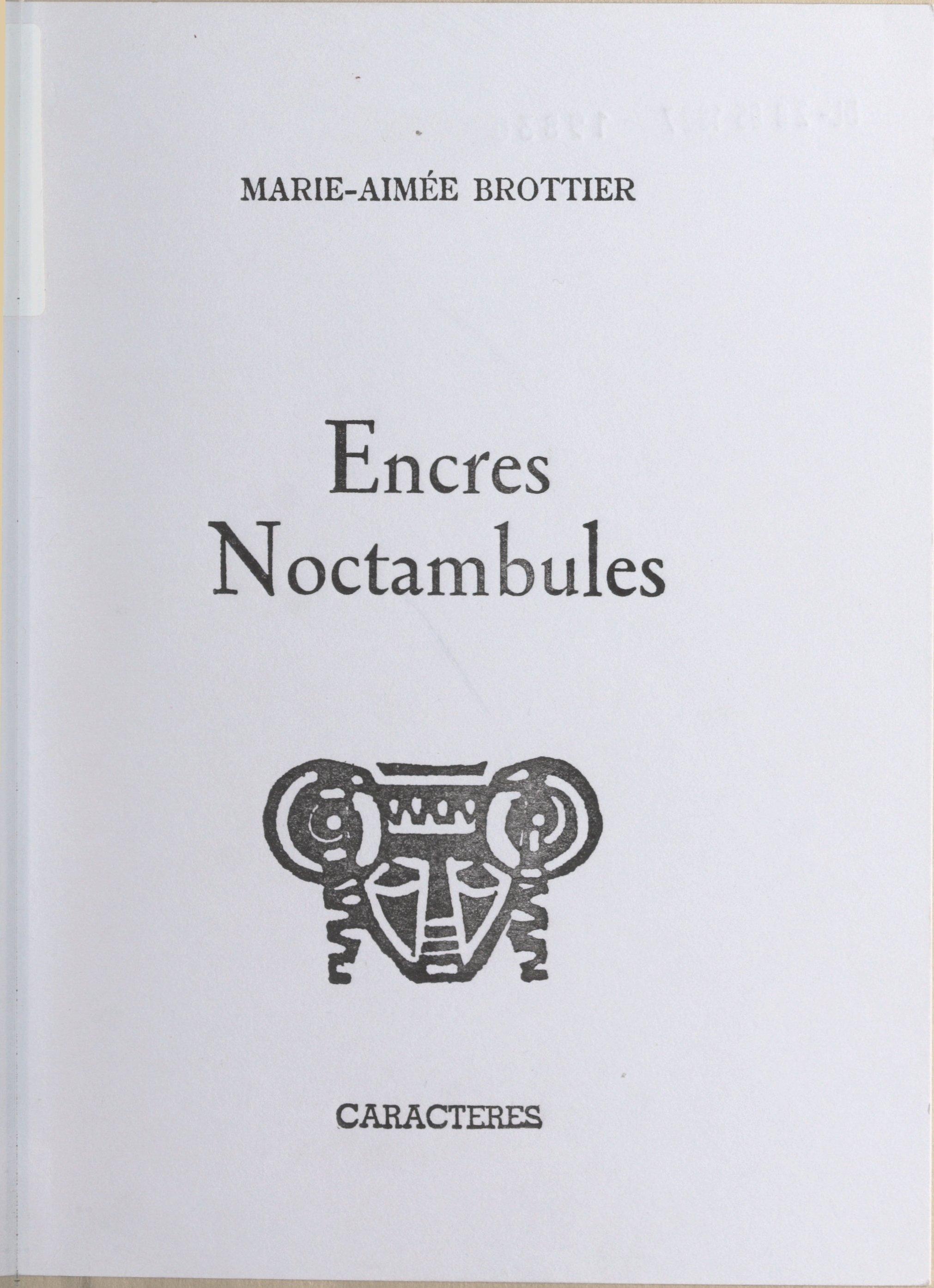 Encres noctambules