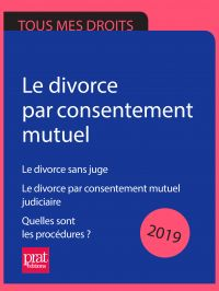 Le divorce par consentement...