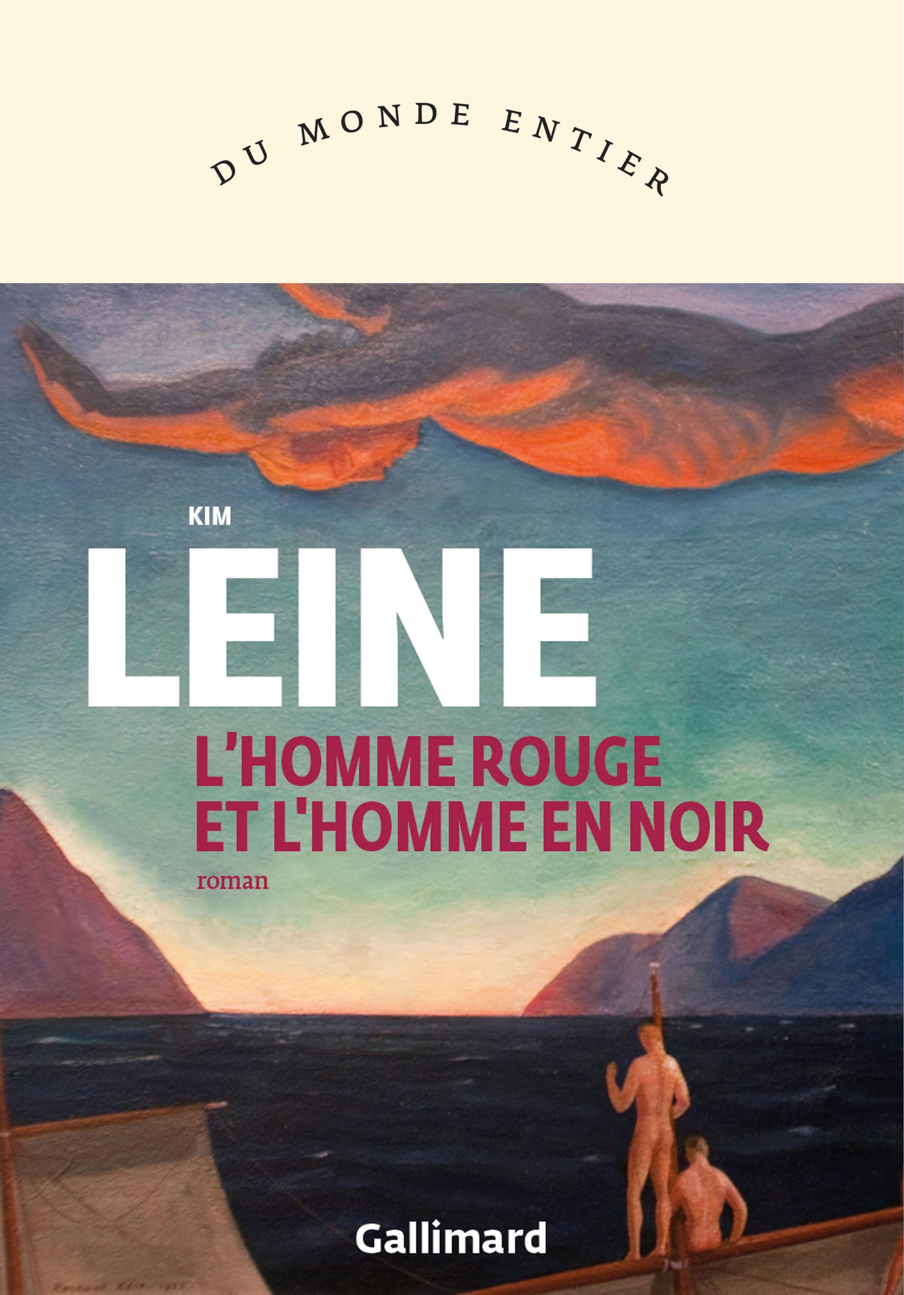 L'HOMME ROUGE ET L'HOMME EN NOIR