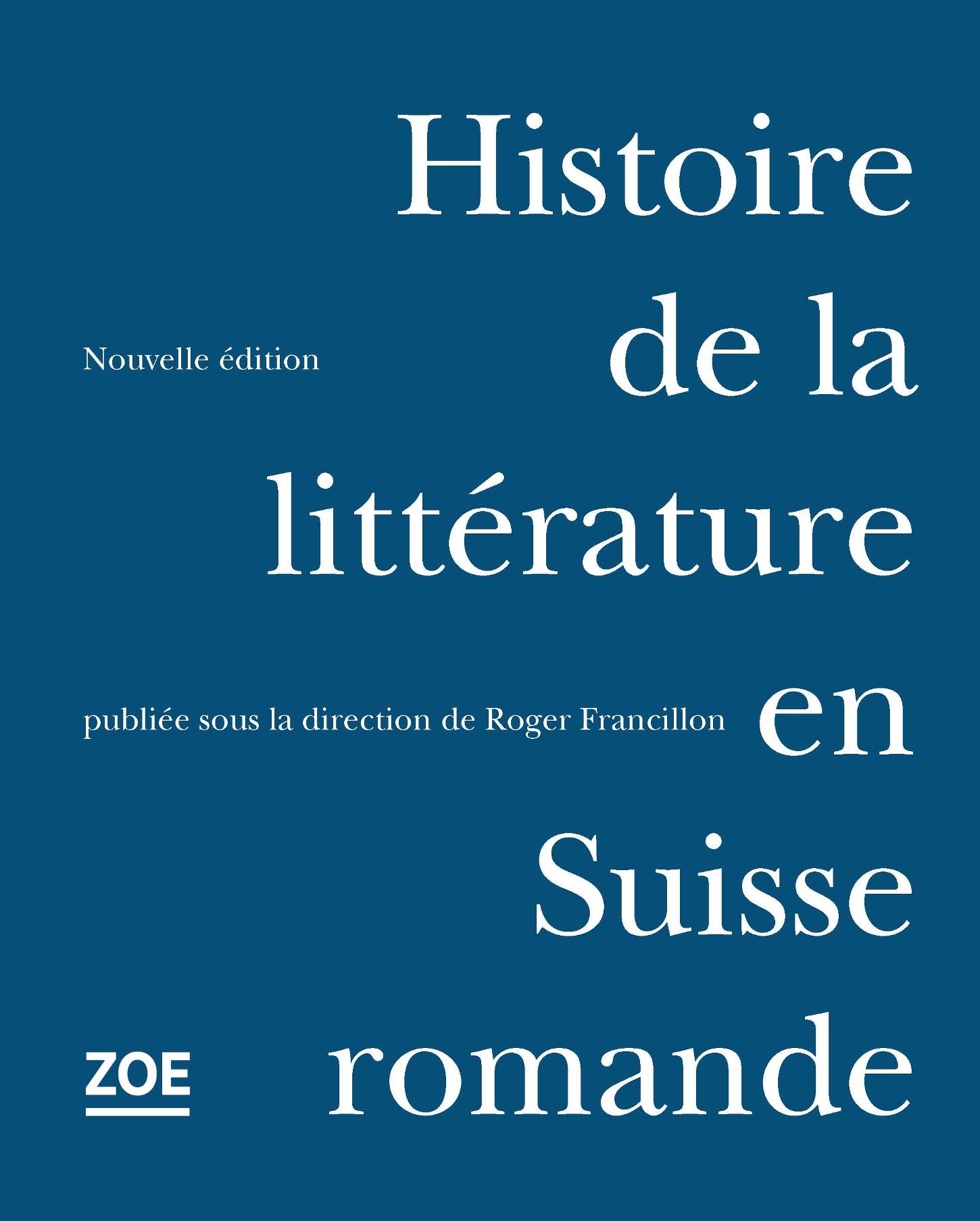 Histoire de la littérature en Suisse romande
