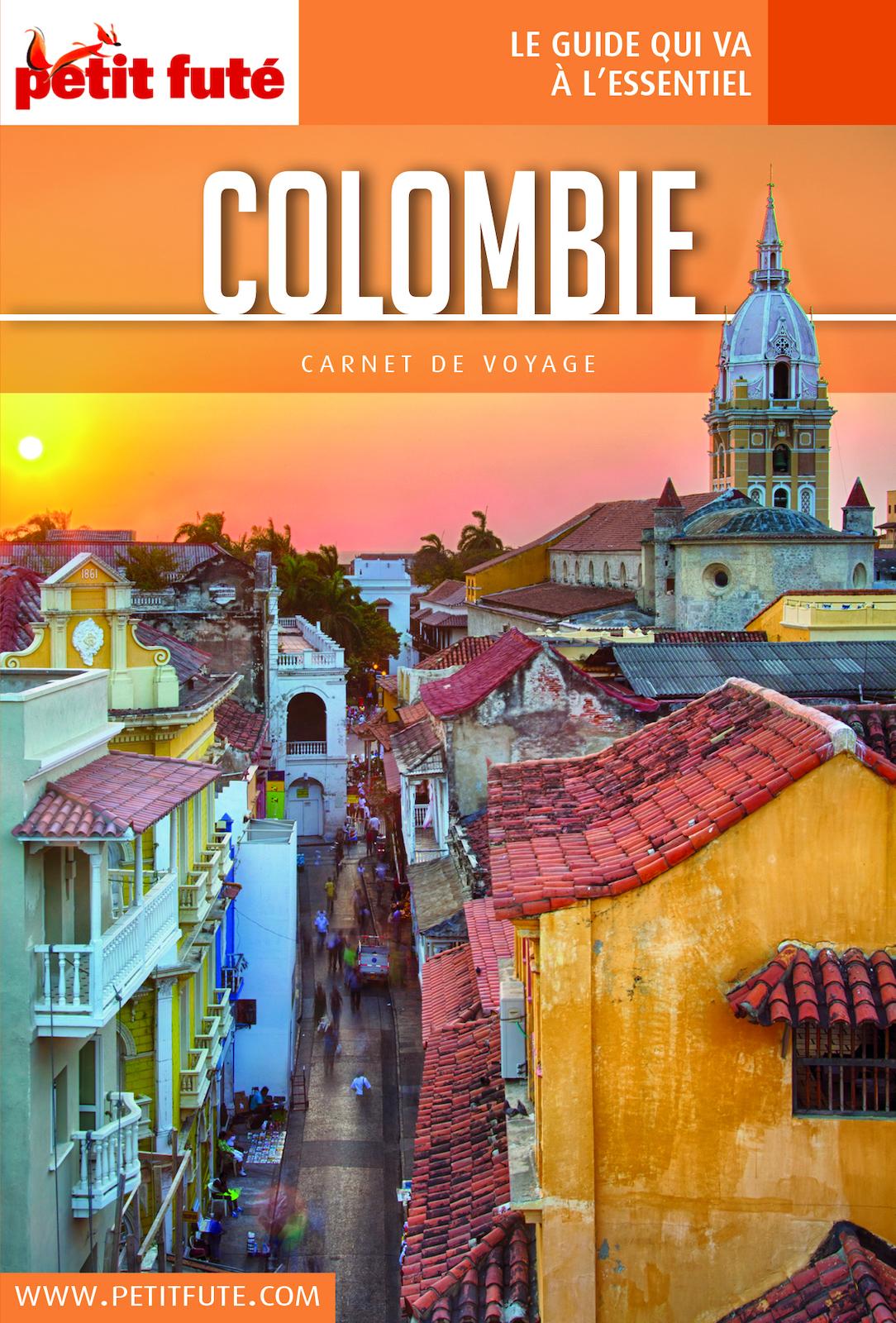COLOMBIE 2018 Carnet Petit Futé