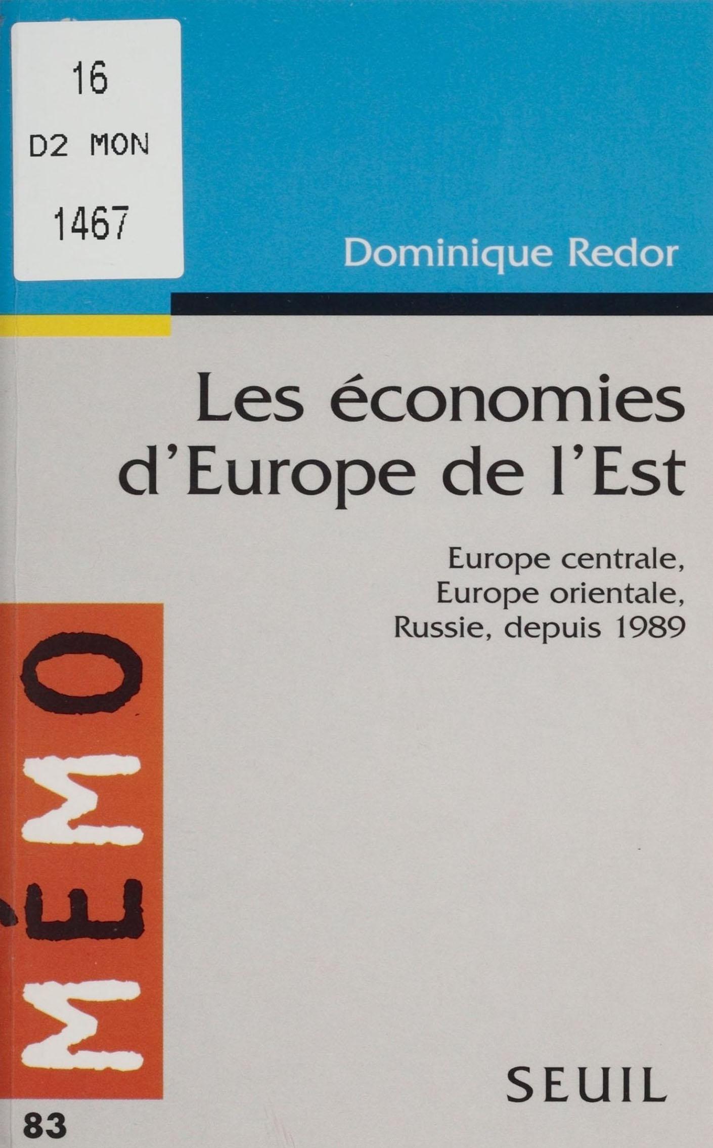 Les Économies d'Europe de l...