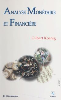 Analyse monétaire et financ...