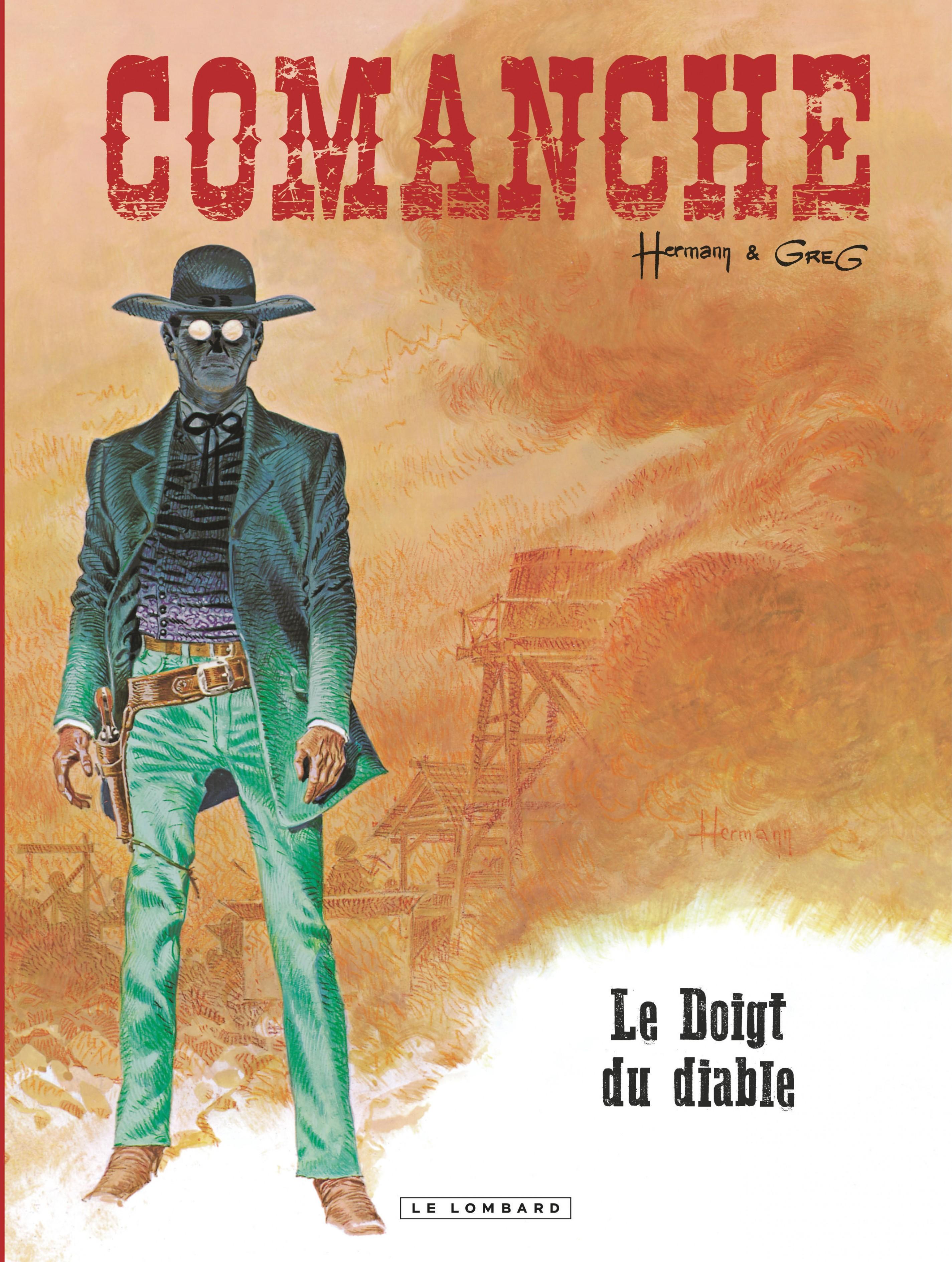 Comanche - Tome 7 - Doigt du diable (Le)
