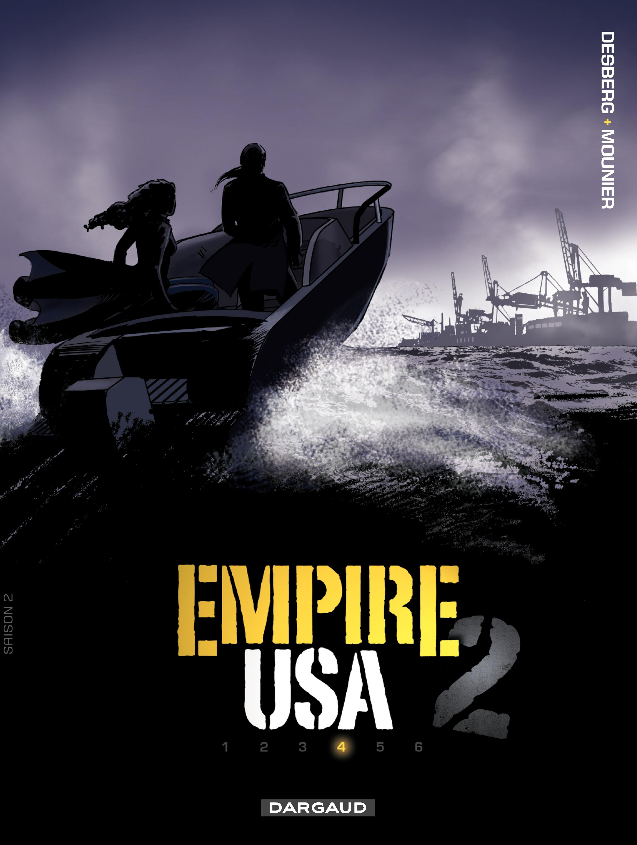 Empire USA (saison 2) - Tome 4 - Sans titre