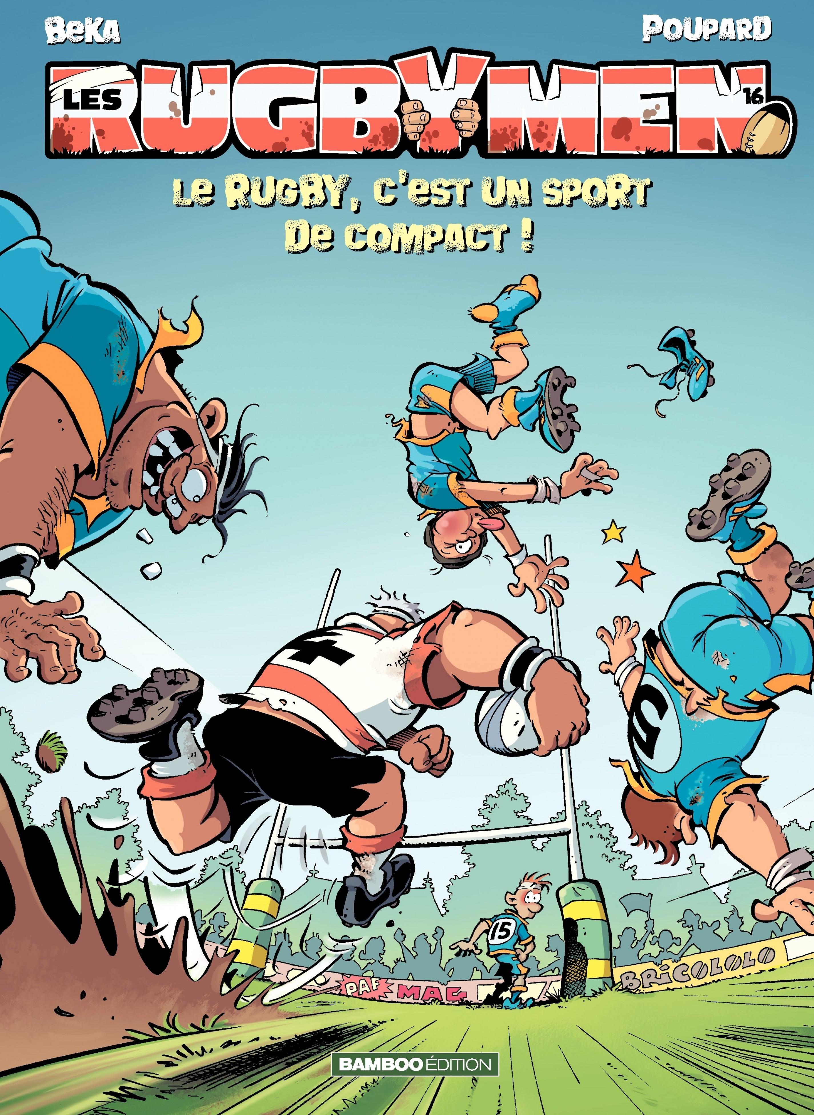 Les Rugbymen - Tome 16 - Le...