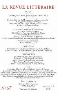 La Revue Littéraire N°67