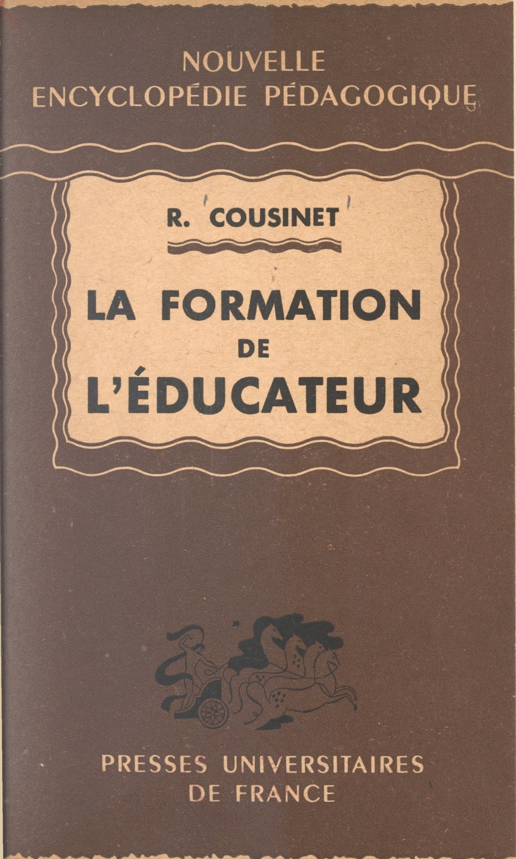 La formation de l'éducateur