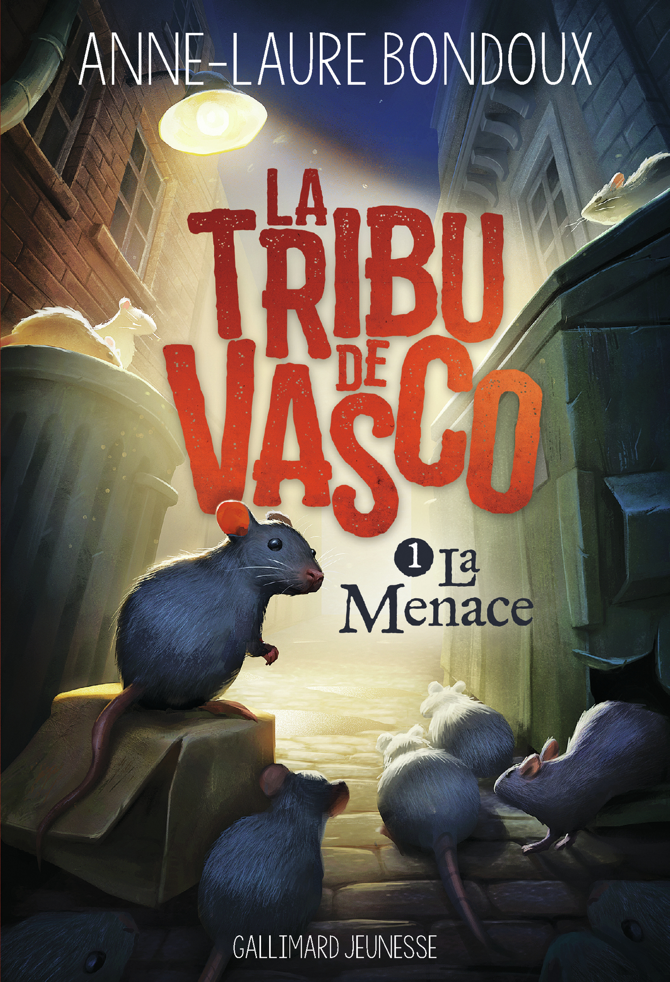 La Tribu de Vasco (Tome 1) - La Menace | Bondoux, Anne-Laure