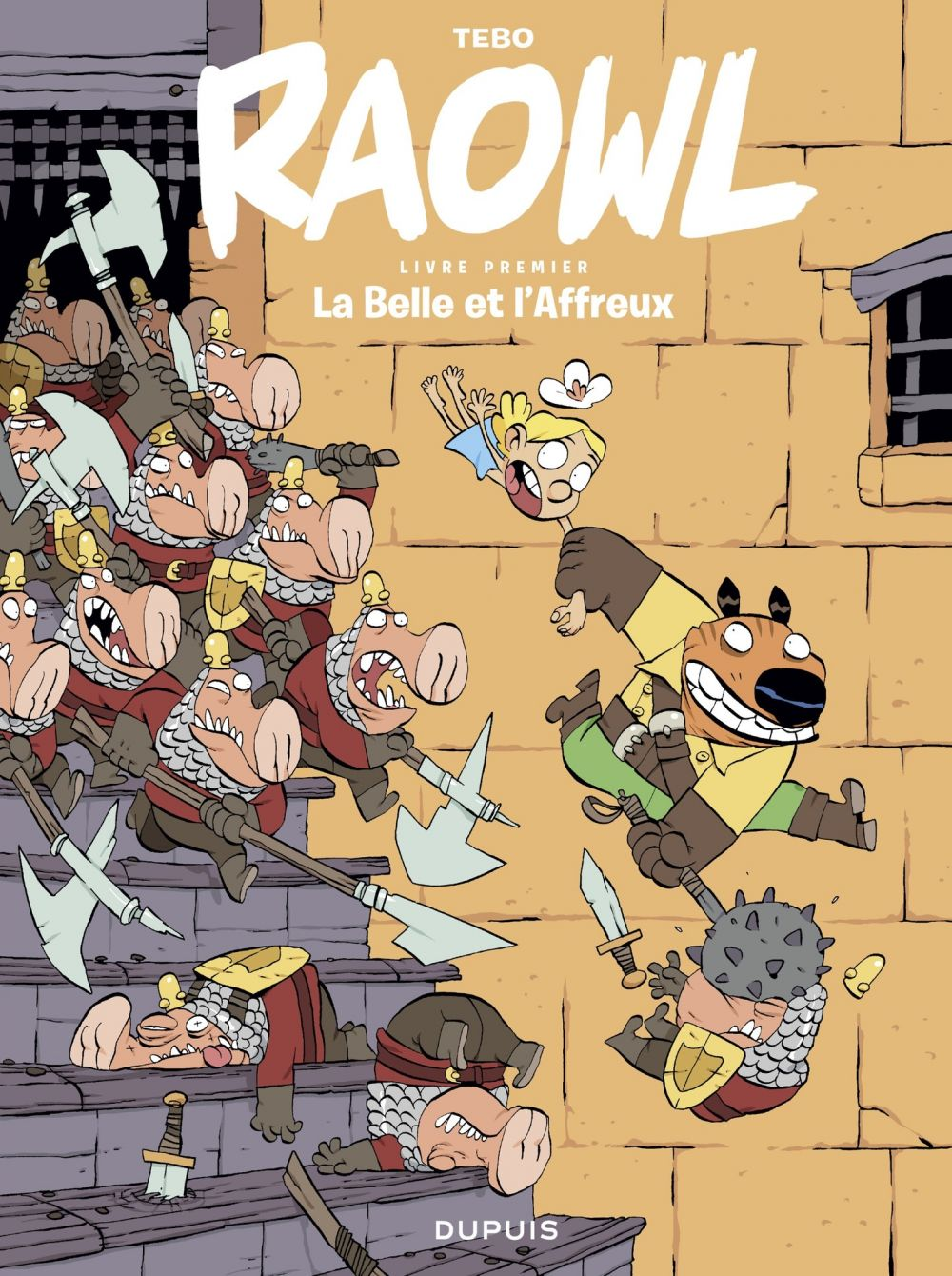 Raowl - tome 1 - La Belle et l'Affreux |