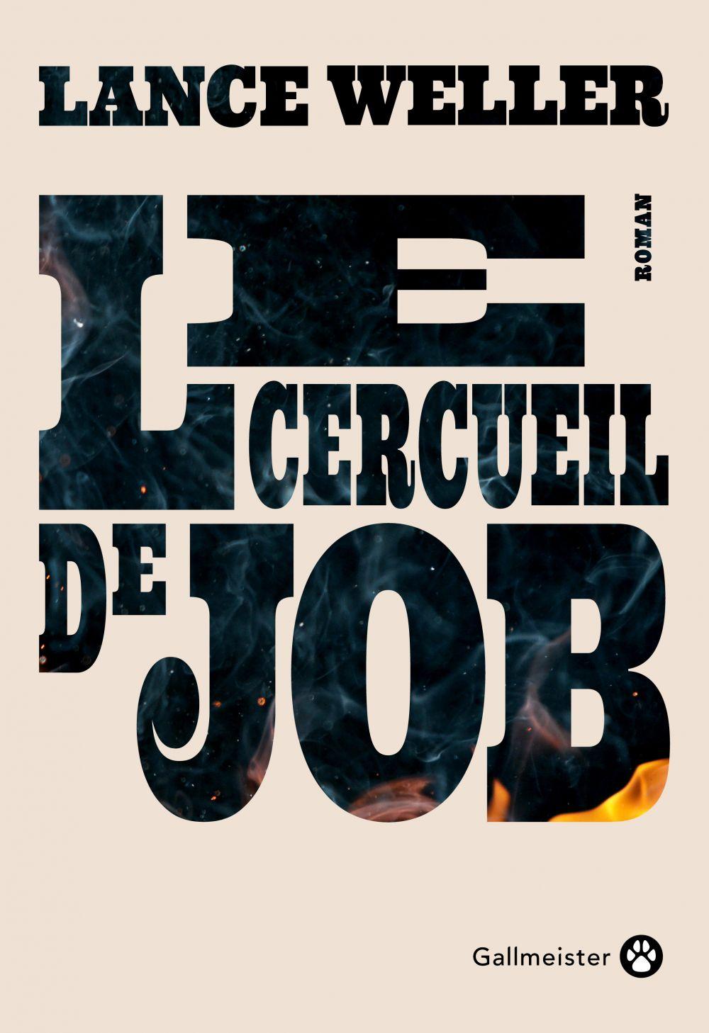 Le Cercueil de Job   Weller, Lance (1965-....). Auteur