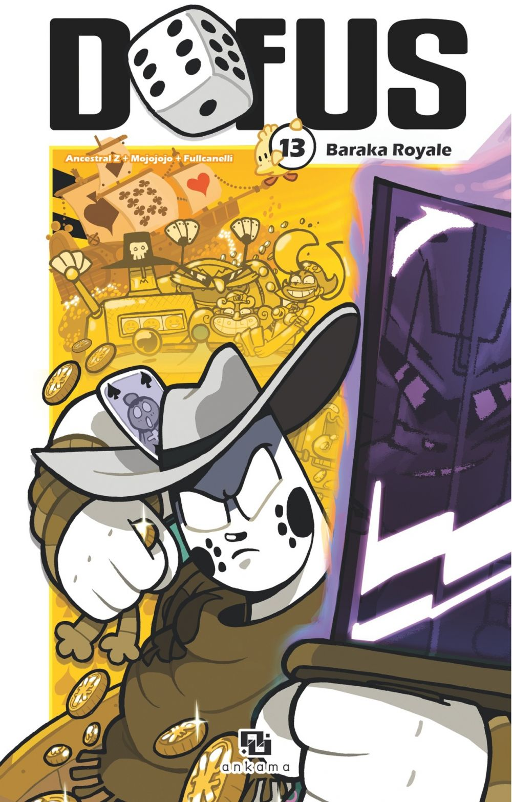 Dofus Manga - Tome 13 - Baraka Royale   Ancestral Z, . Illustrateur
