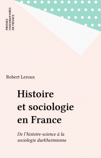 Histoire et sociologie en F...