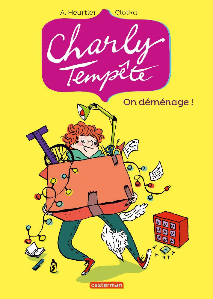Charly Tempête (Tome 1) - On déménage ! |