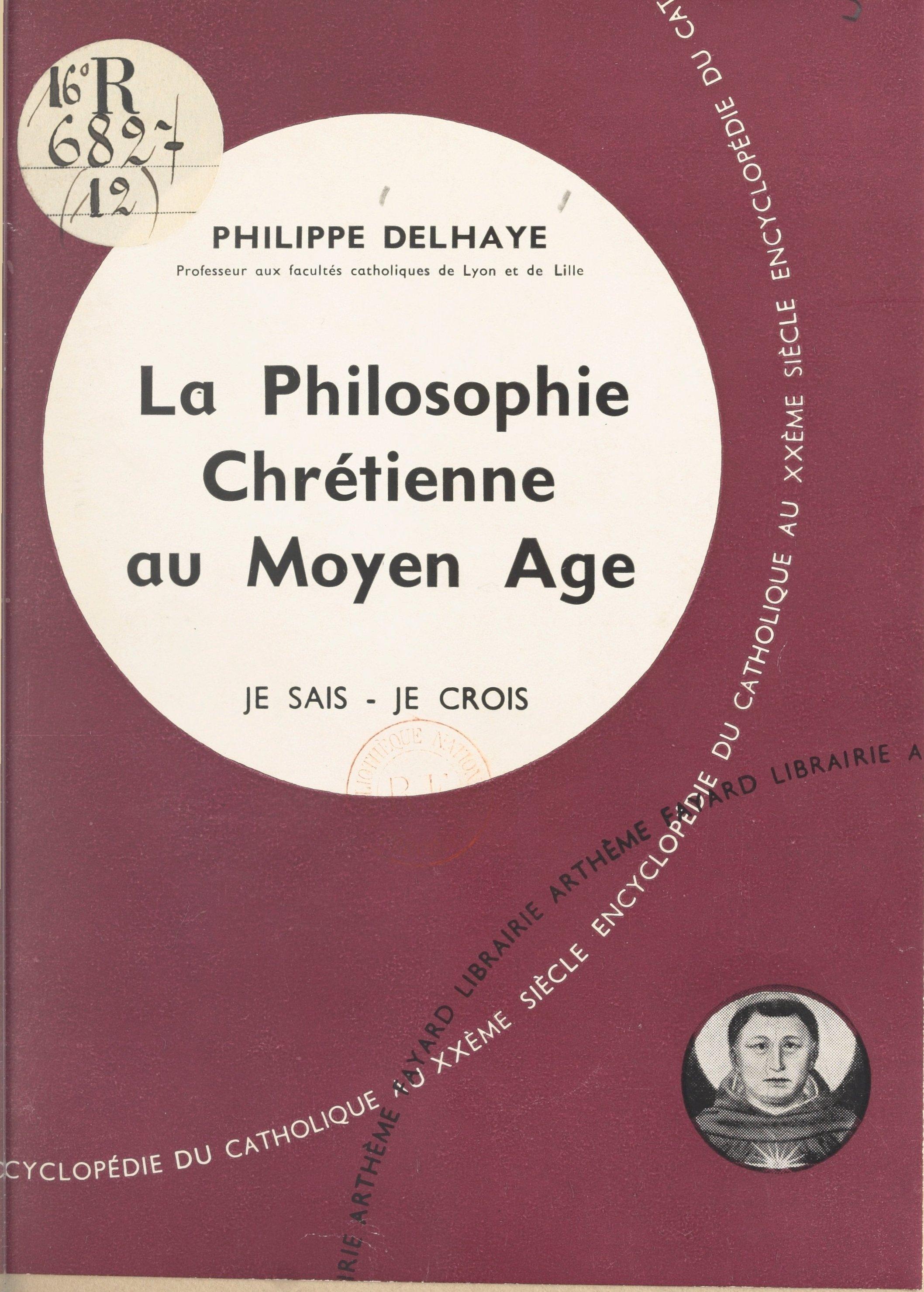 La philosophie chrétienne a...
