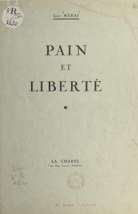 Pain et liberté