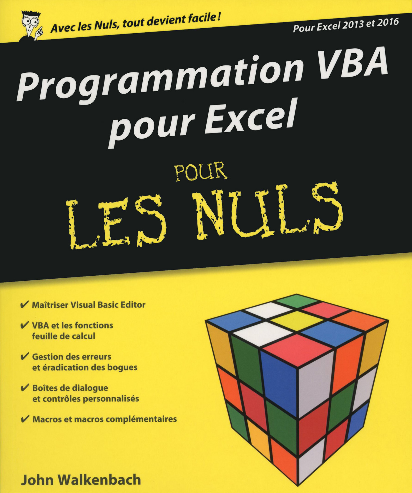 Programmation VBA pour Excel 2013 et 2016 pour les Nuls
