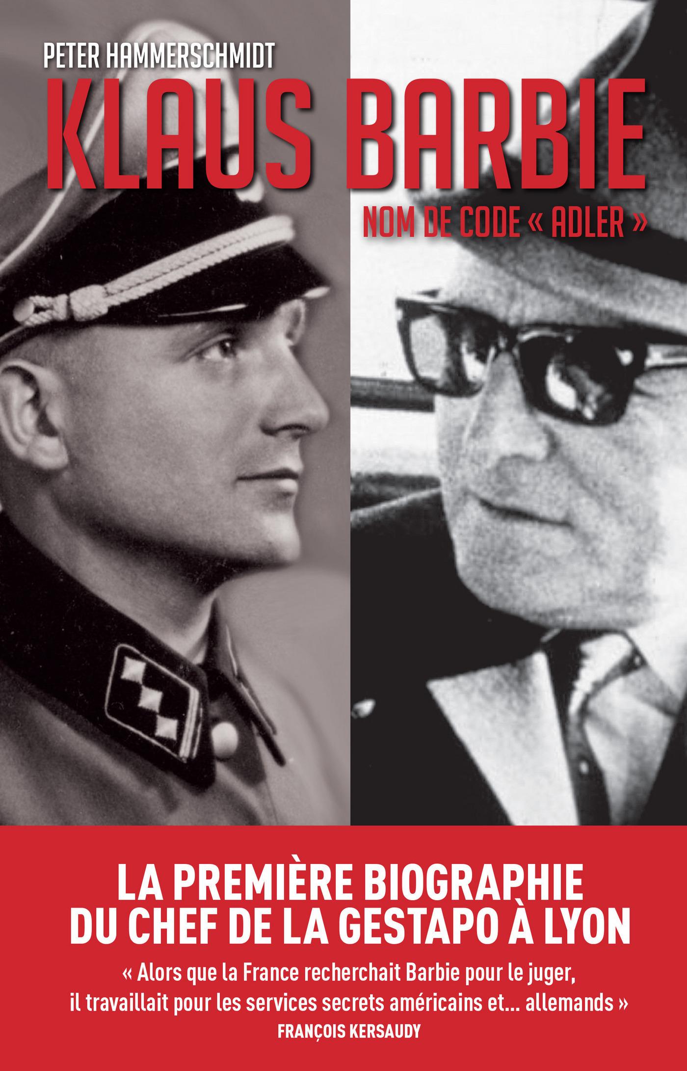 Klaus Barbie, nom de code Adler | Hammerschmidt, Peter