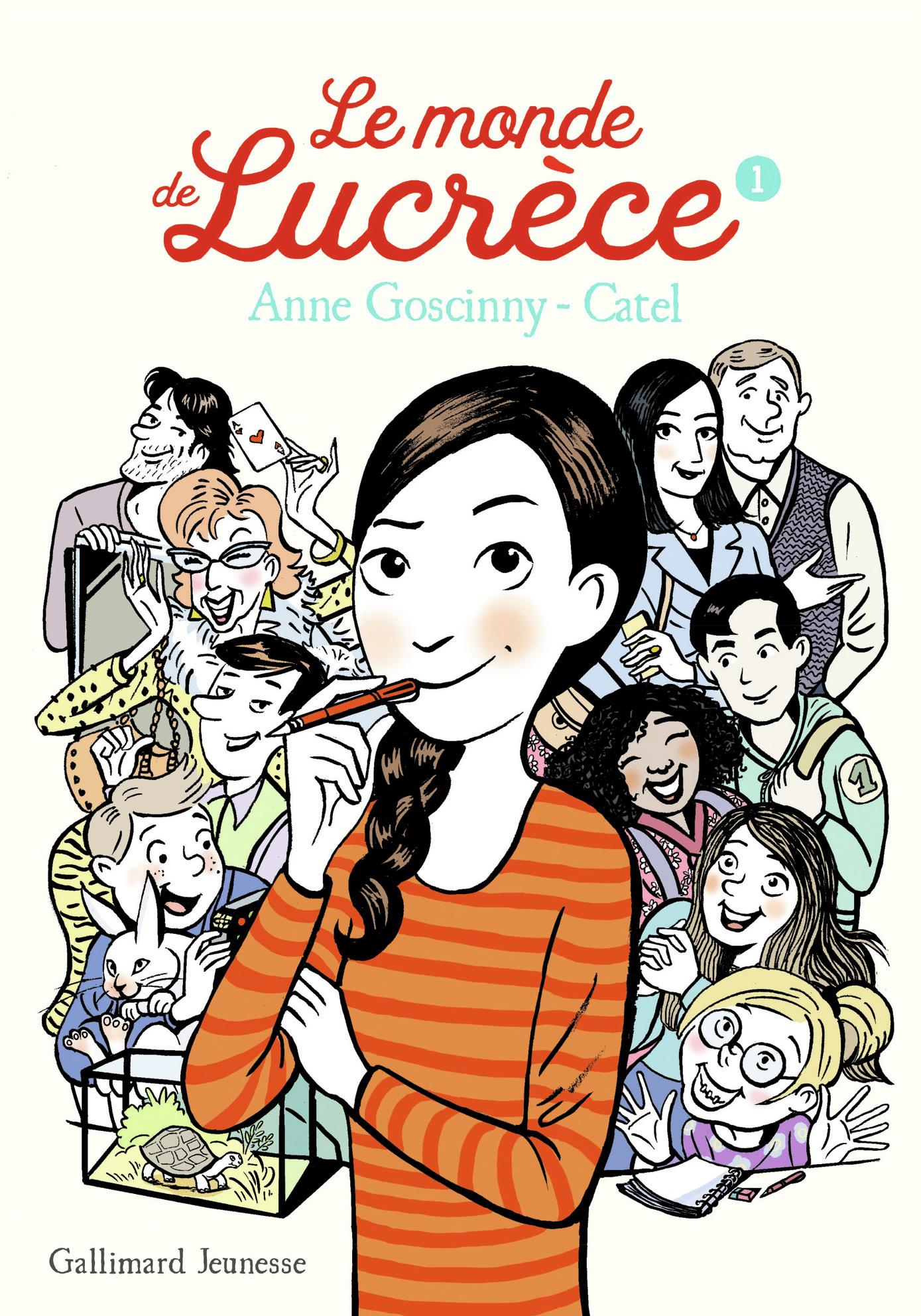 Le monde de Lucrèce (Tome 1) | Catel,