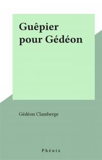 Guêpier pour Gédéon
