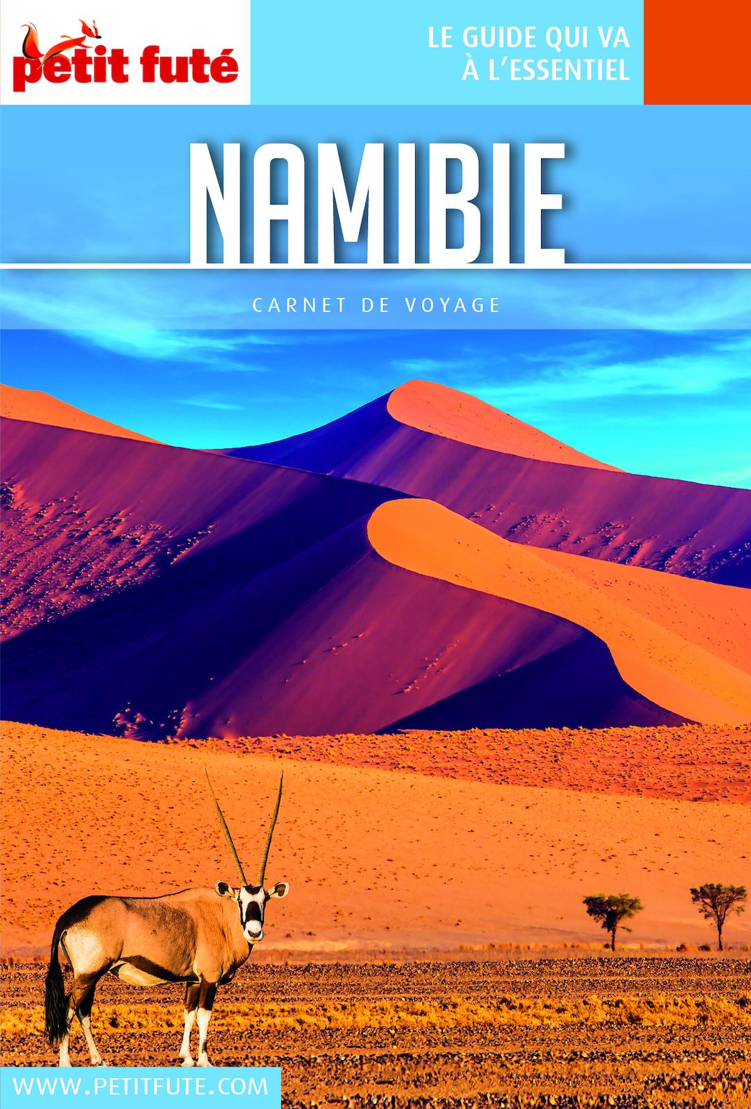 NAMIBIE 2019 Carnet Petit Futé
